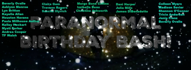 Paranormal birthday bash authors